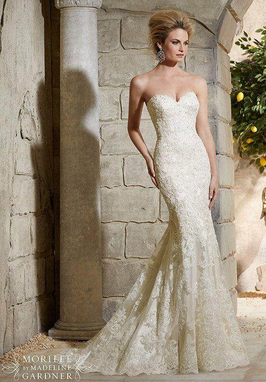 Morilee by Madeline Gardner 2782 Sheath Wedding Dress