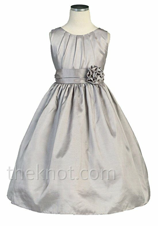 Pink princess dsk355 flower girl dress the knot pink princess dsk355 silver flower girl dress mightylinksfo