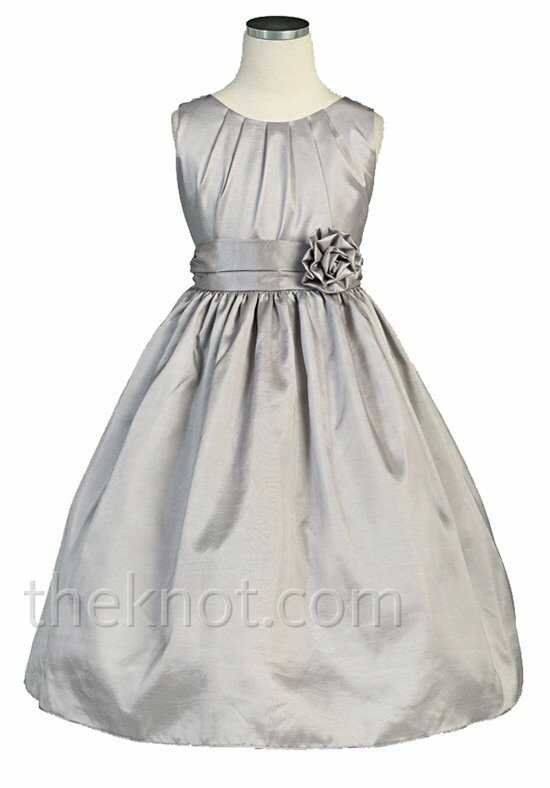 Pink Princess DSK355 Silver Flower Girl Dress