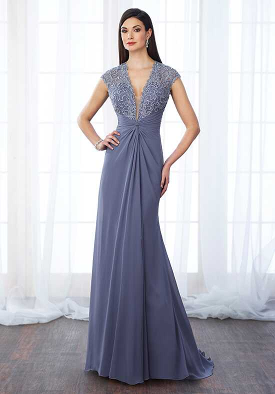 Cameron Blake 217648 Blue Mother Of The Bride Dress