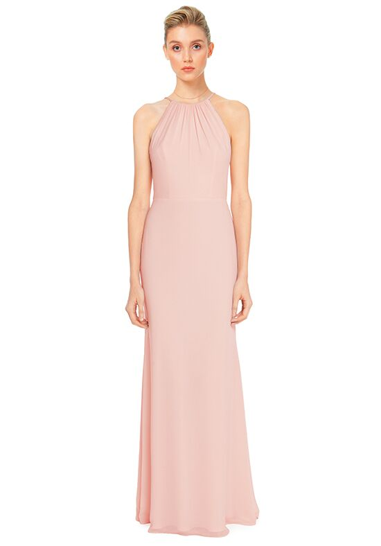 #LEVKOFF 7032 Halter Bridesmaid Dress