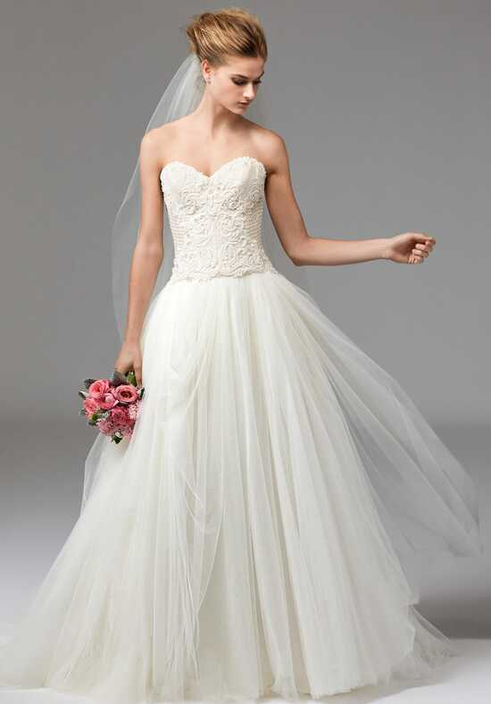 Watters Brides Marjorie Corset 1040B/Cassia Skirt 1089B Wedding Dress photo