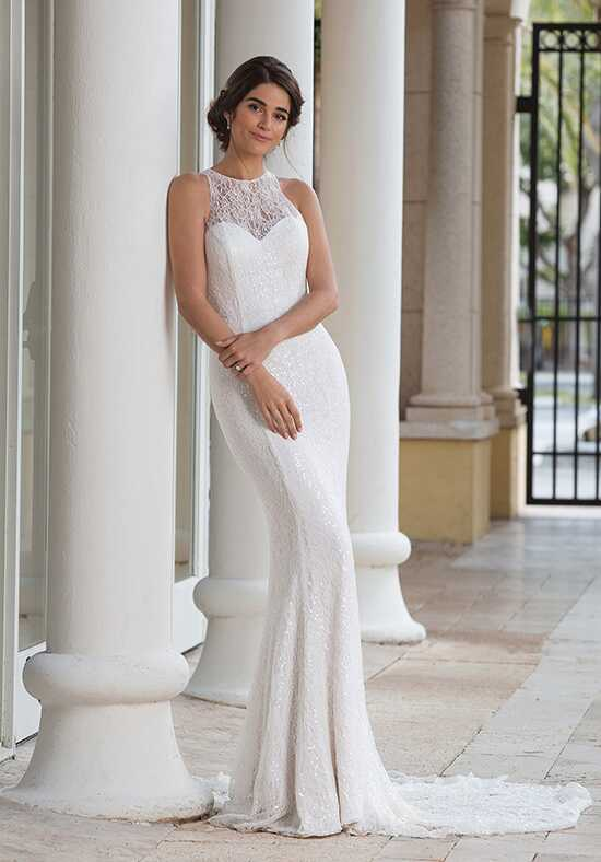 Sincerity Bridal 44096 Sheath Wedding Dress