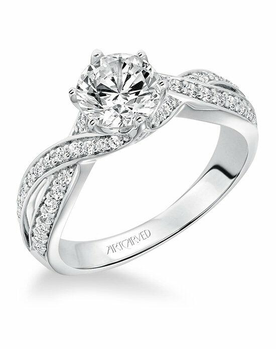ArtCarved 31-V593ERW-E Engagement Ring photo