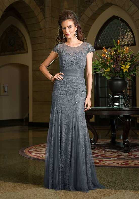 Jade Couture K168059 Silver Mother Of The Bride Dress