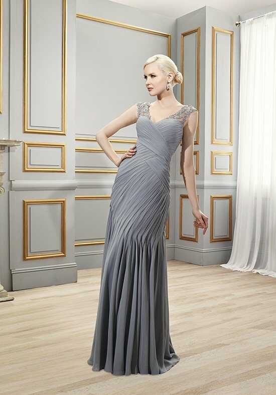 Val Stefani Celebrations MB7512 Silver Mother Of The Bride Dress