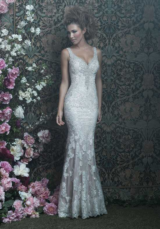 Allure Couture C412 Sheath Wedding Dress