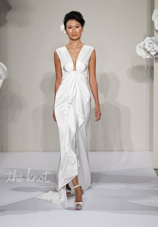 Pnina Tornai for Kleinfeld 4204 Sheath Wedding Dress
