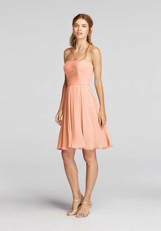 David's Bridal Collection David's Bridal Style F18028 Strapless Bridesmaid Dress