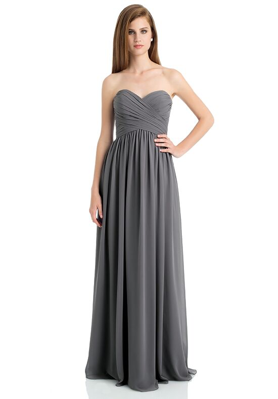 Bill Levkoff 740 Strapless Bridesmaid Dress