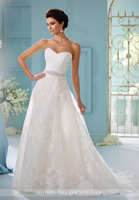 David Tutera for Mon Cheri 216259 Skylar A-Line Wedding Dress