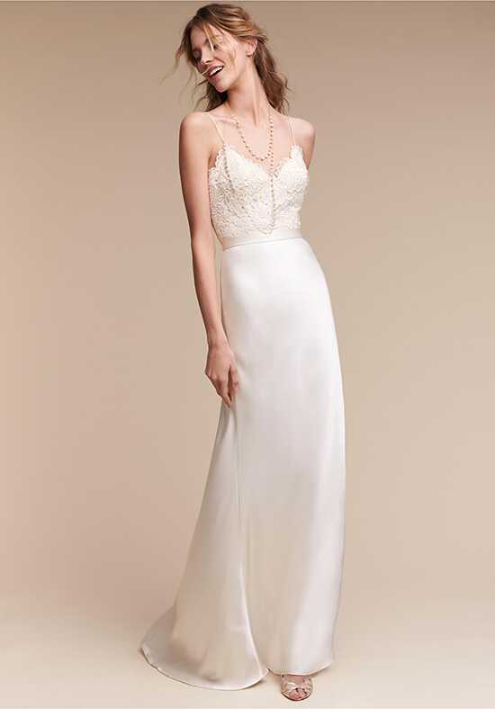 BHLDN Havana Corset Top & Mae Skirt Sheath Wedding Dress