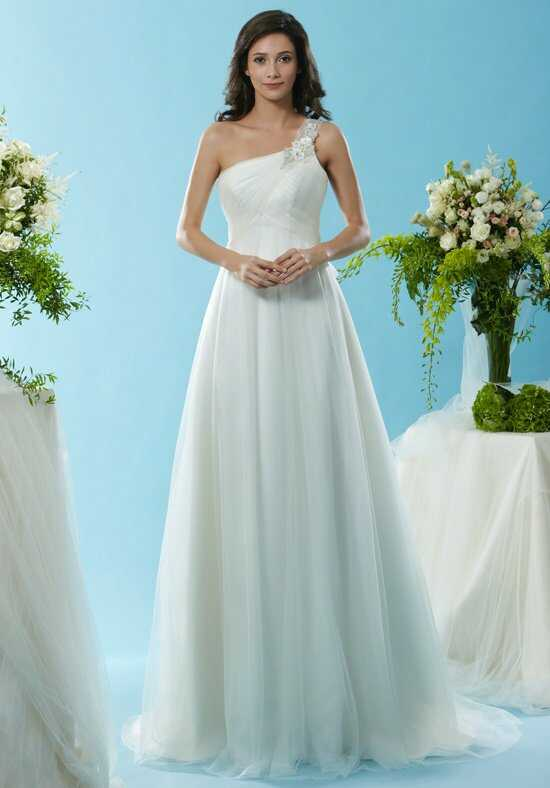 Eden Bridals SL068 A-Line Wedding Dress