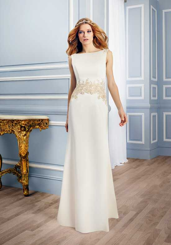 Moonlight Tango T745 Sheath Wedding Dress