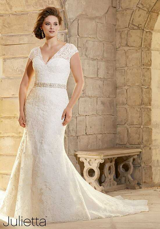 Morilee by Madeline Gardner/Julietta 3183 Sheath Wedding Dress