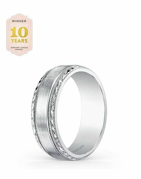 Kirk Kara Artin Collection SS6974M - B White Gold Wedding Ring
