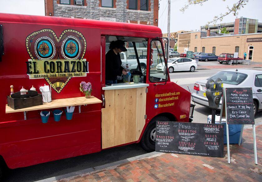 El Corazon Food Truck Portland Me