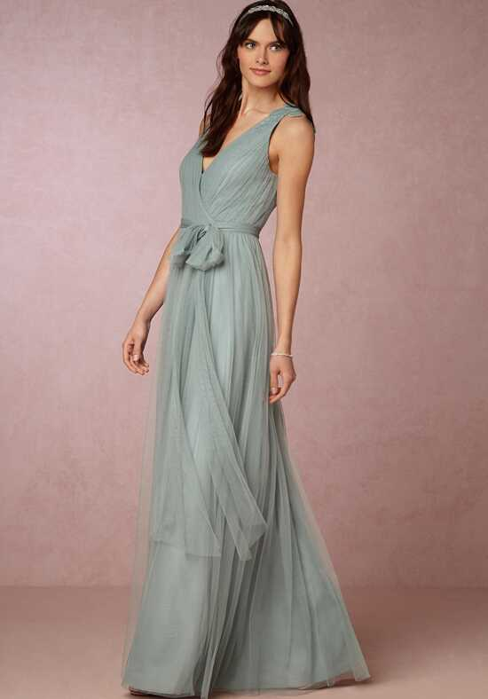 BHLDN (Bridesmaids) Pippa Dress - Horizon Blue Bridesmaid Dress photo