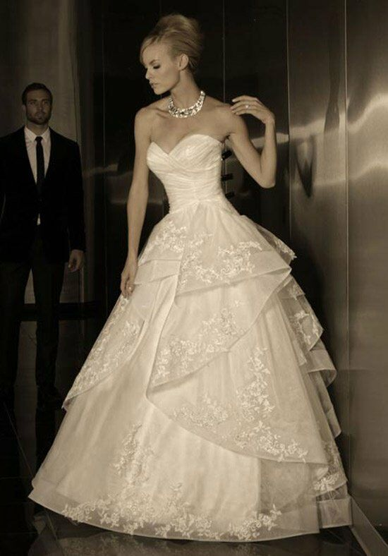 Simone Carvalli 90133 Ball Gown Wedding Dress