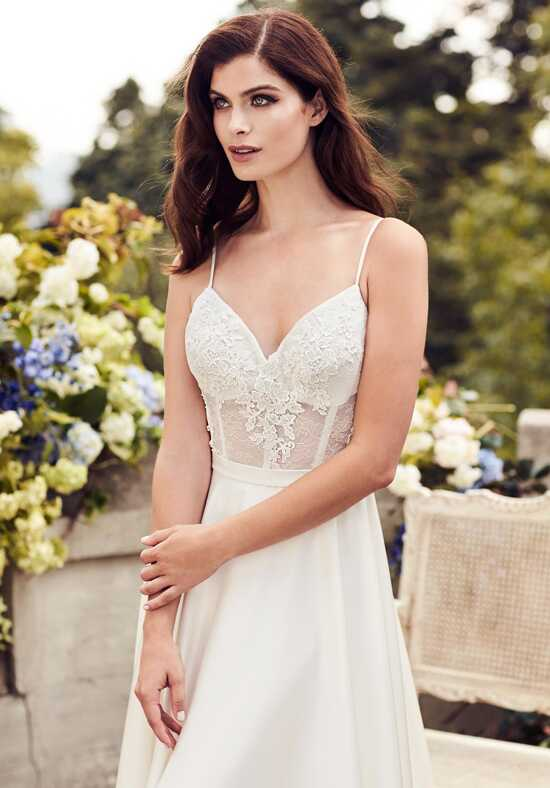 Paloma Blanca 4739 A-Line Wedding Dress
