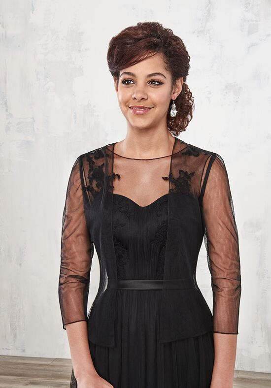 Beautiful Mothers by Mary's M2786 Black Mother Of The Bride Dress