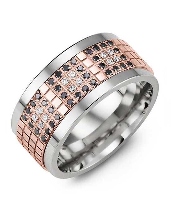 MADANI Rings MJB110TP-48D Gold, Rose Gold, White Gold, Tungsten Wedding Ring