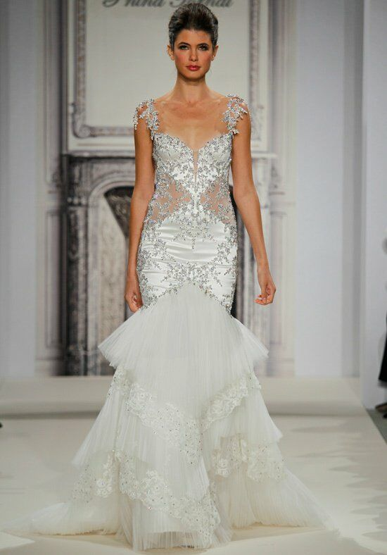 Pnina Tornai for Kleinfeld 4280 Mermaid Wedding Dress