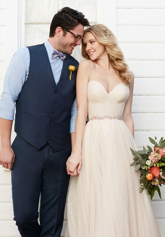 Martina Liana Casey+Scout A-Line Wedding Dress