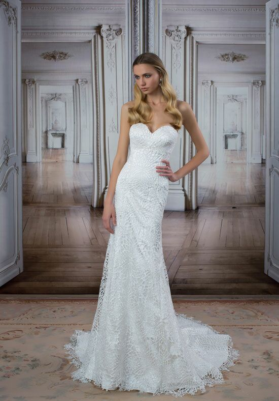 LOVE by Pnina Tornai for Kleinfeld 14418 Mermaid Wedding Dress