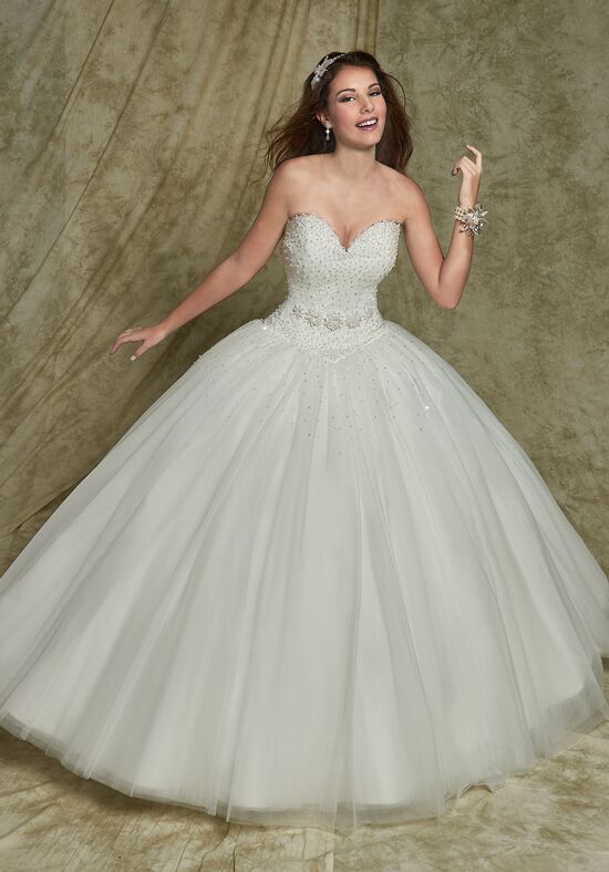 1 wedding by mary 39 s bridal 6481 wedding dress the knot for Places to donate wedding dresses