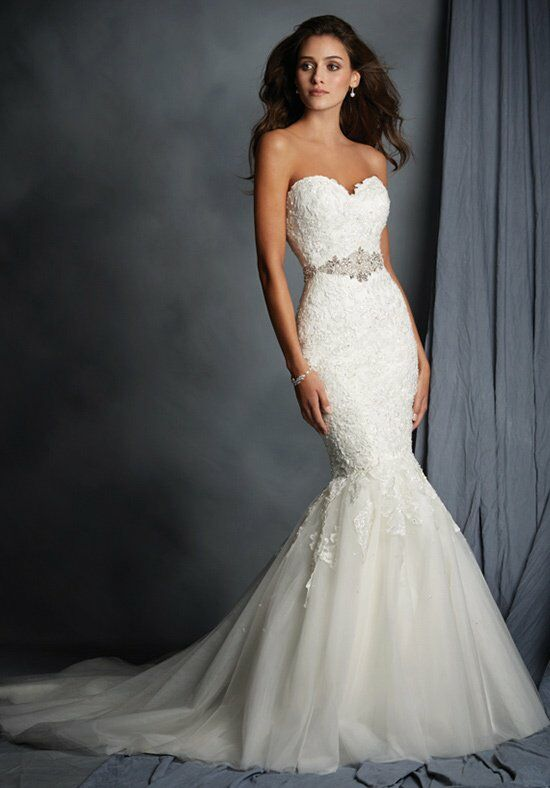 Alfred Angelo Signature Bridal Collection 2526 Mermaid Wedding Dress