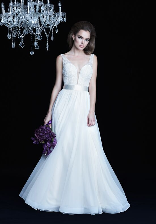 Paloma Blanca 4755 A-Line Wedding Dress