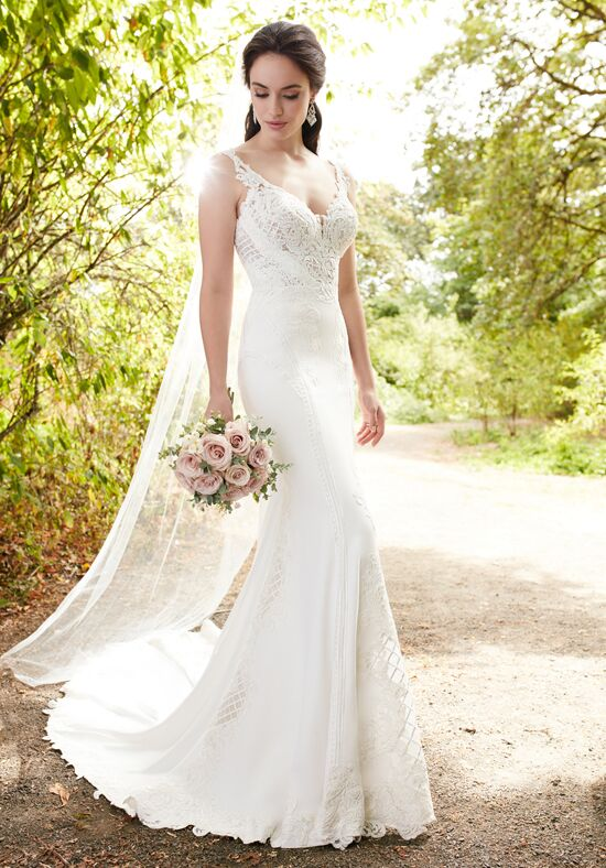 Martina liana 753 wedding dress the knot for White after wedding party dress