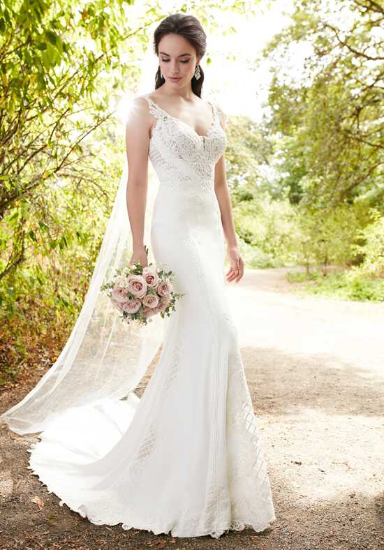 Martina Liana 862 Sheath Wedding Dress
