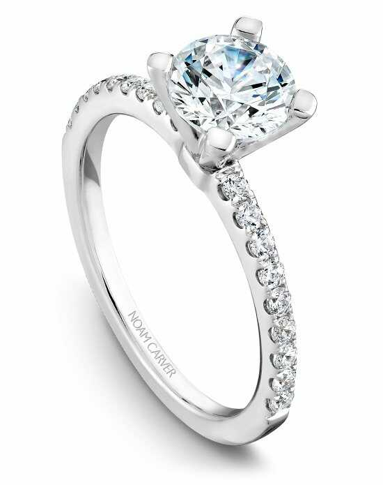 Noam Carver Classic Round Cut Engagement Ring