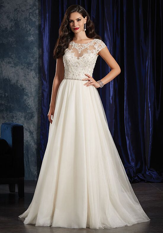 Alfred angelo sapphire bridal collection 990 wedding dress for D angelo wedding dresses