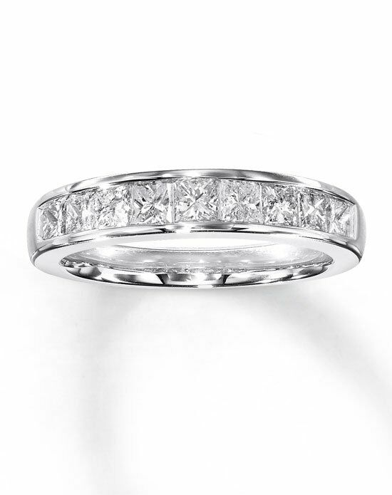 diamond band anniversary gold cut gabriel white princess stone bands product