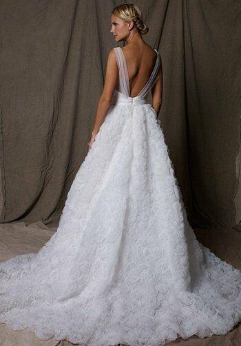 lela rose the secret garden a line wedding dress