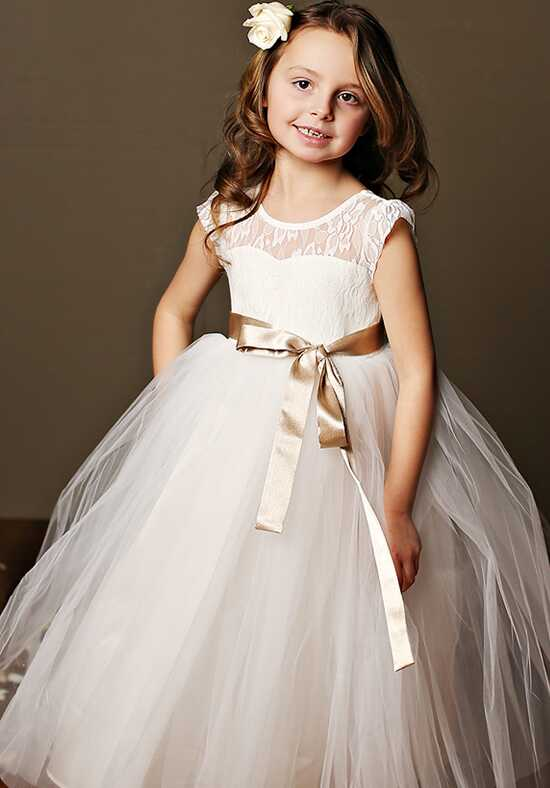 FATTIEPIE Stella Ivory Flower Girl Dress