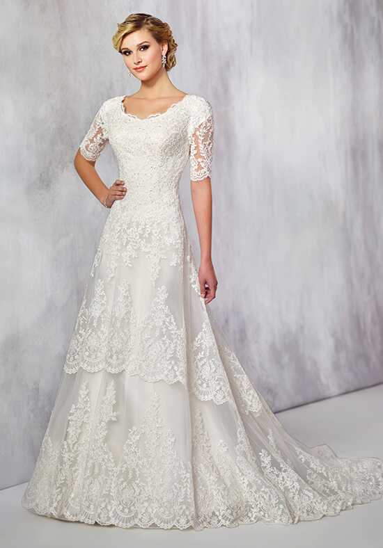 Modest by Mon Cheri TR21715 A-Line Wedding Dress