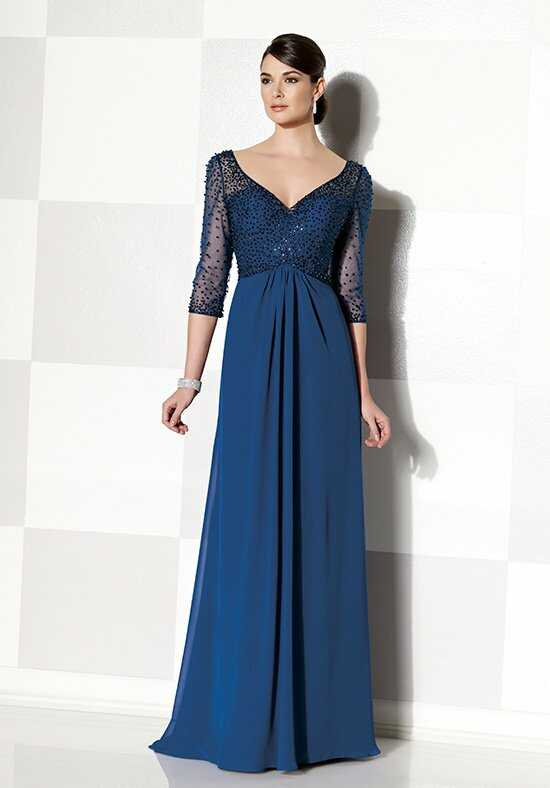 Cameron Blake 215628 Blue Mother Of The Bride Dress