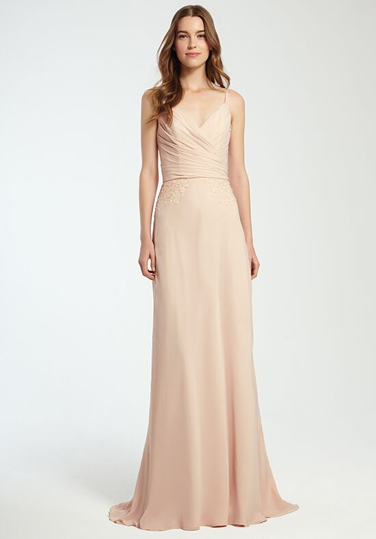 Monique Lhuillier Bridesmaids 450360 V-Neck Bridesmaid Dress