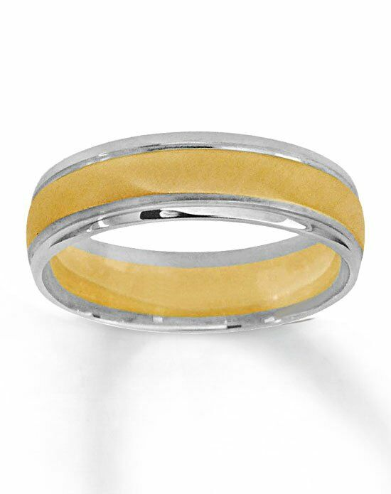 kay jewelers 10k two tone gold wedding band 251776100 white gold gold wedding - Kay Jewelers Wedding Ring