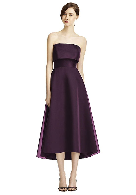 Lela Rose Bridesmaids LR234 Strapless Bridesmaid Dress