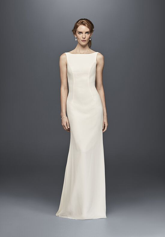 David's Bridal David's Bridal Collection Style WG3833 Sheath Wedding Dress