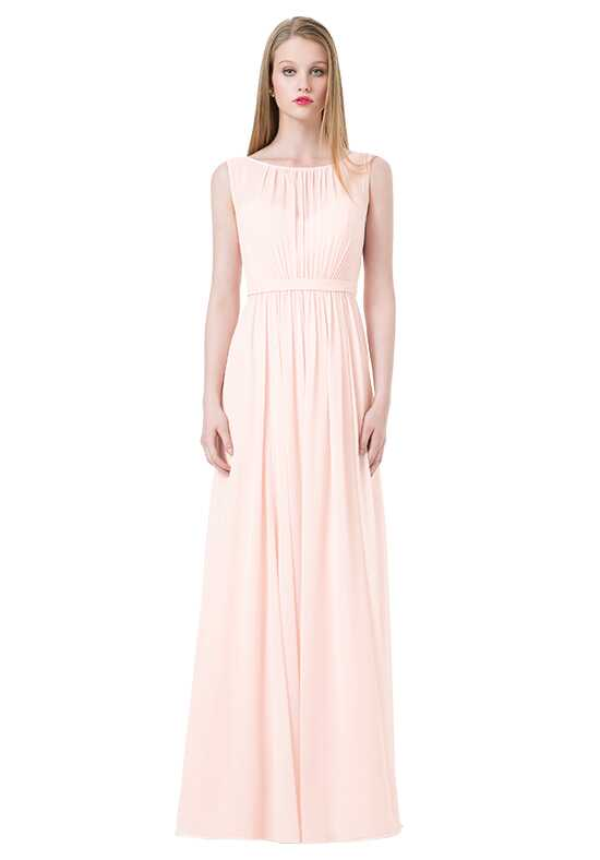 Bill Levkoff 1221 Illusion Bridesmaid Dress