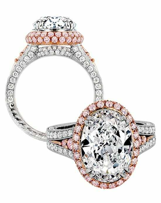 Jack Kelege Oval Cut Engagement Ring