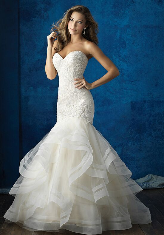 Allure Bridals 9364 Mermaid Wedding Dress