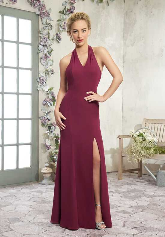 Amalia by Mary's Bridal MB7003 Halter Bridesmaid Dress
