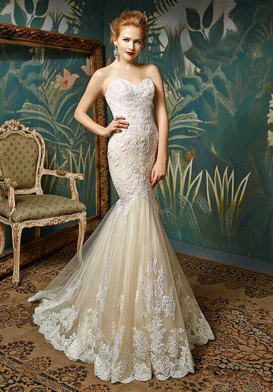 Blue by Enzoani Jin Mermaid Wedding Dress